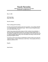 Cover Letter With No Experience Fresh Teacher Cover Letter Examples