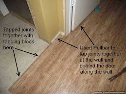 how to install hardwood flooring around door jambs designs