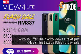 Wiko To Offer Their Wiko View4 Lite At ...
