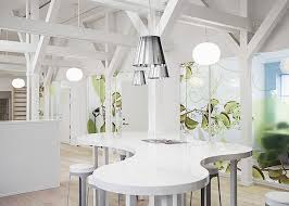 Organic Office Bring The Nature Into Daily Routine Office