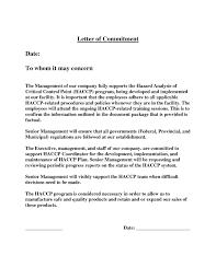 Employment Commitment Letter Filename Infoe Link