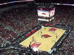 Kfc Yum Center Seating Chart View Of The Arena Picture Of