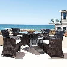 teak outdoor furniture wicker dining