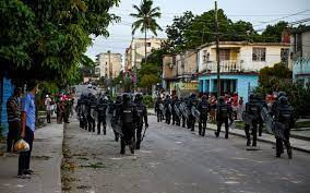 Biden Backs Cuba Protests as Activist ...
