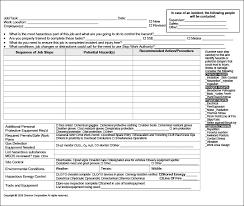 Job Safety Analysis Template Free Gorgeous Sample Job Analysis Template Flybymediaco