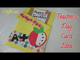 Homemade Card Templates Card Making Ideas For Teachers Diy Teachers Day Card Making