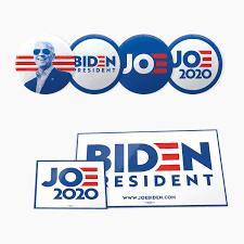Joe Biden Campaign – Button, Sticker – Design Tagebuch