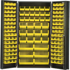 Strong Hold Cabinets Quantum Storage Cabinet With 132 Bins 36in X 24in X 72in Size