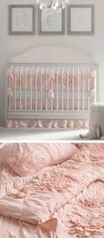 textural layers. lend the nursery femininity and an irresistibly light and  airy texture by choosing. White Crib BeddingBaby Girl ...