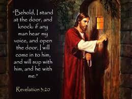 rapture open the door to your heart let e in
