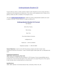 Best Of Music Resume Sample Resumes For College Student And Graduate ...