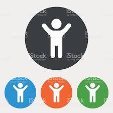 Boy Bathroom Sign Child Icon Happy Young Boy Symbol Stock Vector Art 585613052 Istock