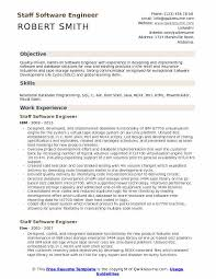 Software Developer Resume Samples Staff Software Engineer Resume Samples Qwikresume