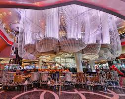 the renovated first level of chandelier at the cosmopolitan of las vegas erik kabik