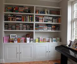 ... Glamorous Custom Built In Bookshelves Custom Bookshelves Near Me Grey  Wooden Cabinet With ...