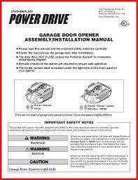 chamberlain garage door opener reset chamberlain garage door opener programming instructions