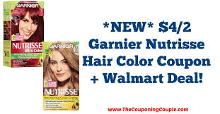 The choice is yours and with these 2020 hair dye coupons, you can find the best prices available. New 4 2 Garnier Nutrisse Hair Color Coupon Walmart Deal