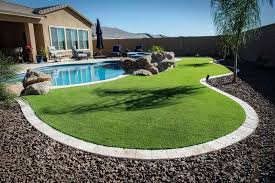 artificial turf yard.  Yard With Artificial Turf Yard