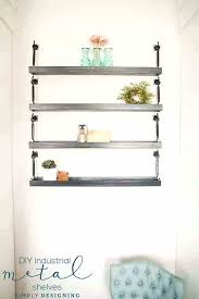 diy industrial shelves diy industrial shelf diy industrial shelves industrial pipe