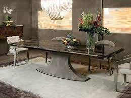 rectangular marble table hubert by longhi
