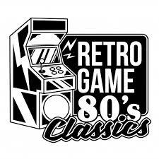 Premium Vector | <b>Retro game 80's classics</b> old game machine for ...
