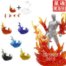 <b>Tamashii FLAME EFFECT</b> + Stand Holder Base Fit 1/12 SHF Figma ...