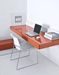 wall mounted desk system uk conceito de mesa suspensa em alta mesa com gavetas com pintura high gloss laranja wall mounted deskwall wall mounted hideaway