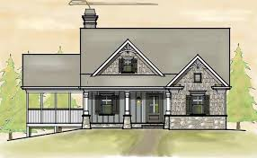 Small Picture Small 2 Story 3 Bedroom Southern Cottage Style House Plan