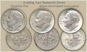 Roosevelt Dime Value Chart Silver Roosevelt Dime Values