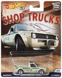 Hot Wheels Car Culture Shop Trucks Volkswagen Caddy 164 Die-Cast Car ...