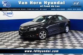 used chevrolet cruze for in green bay wi 13 used cruze certified dealer 2011 chevrolet cruze