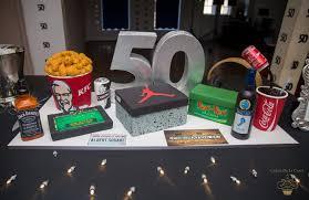 Bespoke 50th All Things Favourite Luxury Birthday Cake Luxury