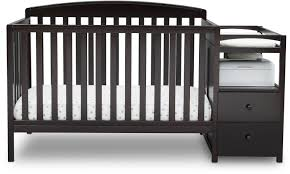 baby furniture ideas. Baby Bedroom Creative Convertible Crib Materials From Black Wooden Blends With Two Drawer Rack Furniture Ideas U