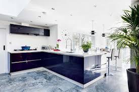 contemporary kitchen designs. contemporary kitchens with bi-fold doors onto the garden kitchen designs