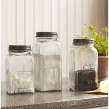 Green Canister Sets Kitchen Glass Canisters For Kitchen Best Kitchen Canisters Ideas Inspired