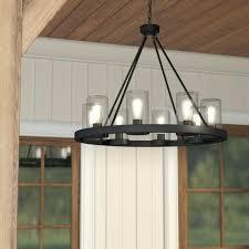 outdoor chandelier lighting mount 8 light home depot