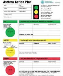 11 Printable Asthma Action Plan Examples Pdf Examples