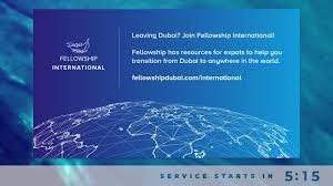 Fellowship - Fellowship Dubai Online - 3 July 2020 | Facebook