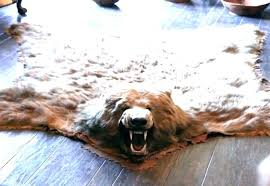 fake animal skin rugs with head faux rugs fake animal skin rugs with head