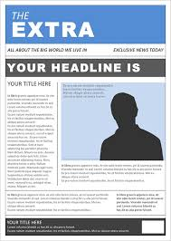 Fake Newspaper Template Word Free 53 Amazing Newspaper Templates In Pdf Ppt Word Psd