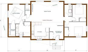 open kitchen living room floor plan. One Room Kitchen Floor Plan Small Open Concept Living Plans R