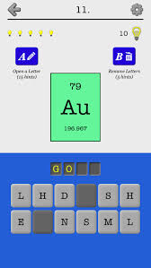 Chemical Elements and Periodic Table: Symbols Quiz | Apps | 148Apps