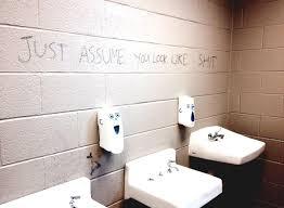 high school bathroom. Learn How To Hang School Bathroom Decorating Ideas 3 High