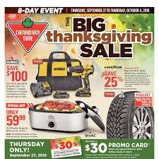 canadian tire weekly flyer 8 day event the big thanksgiving sep 27 oct 4 redflagdeals com