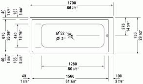 bathtubs standard bathtub dimensions inches size