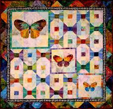 Butterflies for Amy Quilt Designer Pattern: Robert Kaufman Fabric ... & Butterflies for Amy Quilt Designer Pattern: Robert Kaufman Fabric Company Adamdwight.com