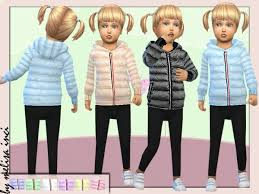The Sims Resource: Toddlers Padded Puffer Jacket by melisa inci • Sims 4  Downloads | Sims baby, Sims 4 clothing, Sims 4