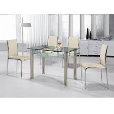 glass dining table sets clearance. astounding silver rectangle modern glass dining table set clearance varnished design sets