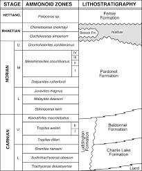 Late Triassic Bivalvia Chiefly Halobiidae And Monotidae