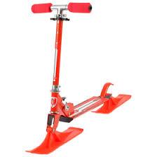 <b>Самокат</b>-снегокат зимний <b>2 в 1</b> Red Sport (4291945) - Купить по ...